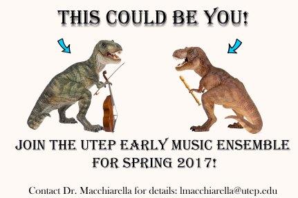 em recruitment poster for spring 2017